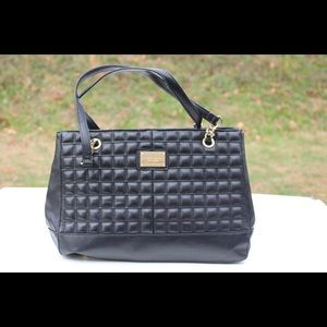 Tignanello quilted leather tote bag
